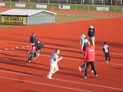 Sportkanjercursus atletiek bij Clytoneus
