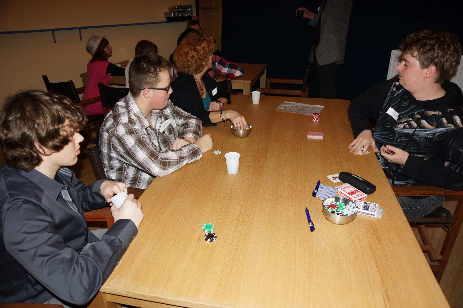 Casino en gala Soosjaal 1 december 2012
